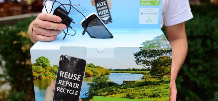 """""""Handys für die Umwelt"""": Deutsche Umwelthilfe startet bundesweite Sammelinitiative"""