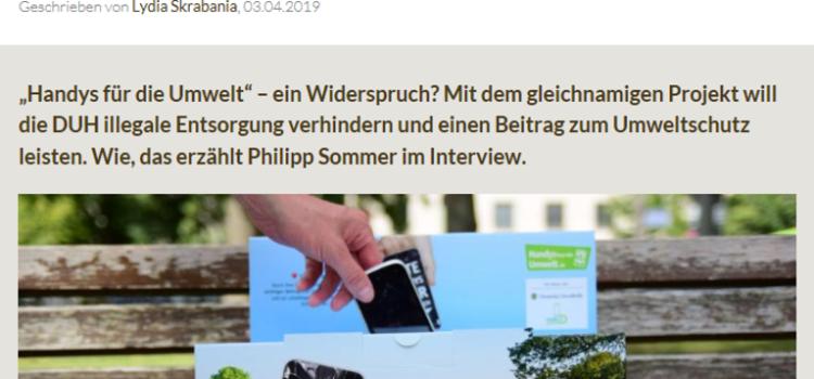 """Problem Smartphone: """"Illegale Entsorgung ist ein riesiges Problem"""""""