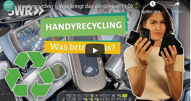 Handyrecycling – Was bringt das der Umwelt?